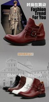 Boots high shoes trend of Korean Short boots boots boots Martin male British Fashion Boots Mens Boots