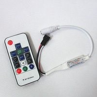 2013 New Wireless RF Digital Color LED Strip WS2811 WS2812 WS2812B Controller 5V