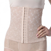 Free drop shipping Multi-Breasted Slim Underbust Belt Postpartum Waist Abdome Control Girdle Corset