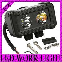 Free Shipping12V/24V 5.5INCH 20W CREE Offroad LED Working Light BAR SPOT Driving Light Bar 4x4 4WD BOAT Truck UTE LED Fog Light