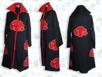Hot!High quality  Cosplay Naruto Akatsuki Orochimaru uchiha madara Sasuke itachi cloak clothes S M L XL XXL XXXL for 153-190cm