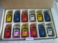Toyota Toy Cars 12pcs/lot New Hot Sale Metal CarToys for Children Outdoor Fun&Sports 12Colors