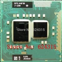 Intel Core i7-620M CPU (4M Cache, 2.66GHz to 3.33Ghz, i7 620M CPU ) SLBPD PGA988 Laptop CPU Compatible HM55 PM55 HM57 QM57 QS57