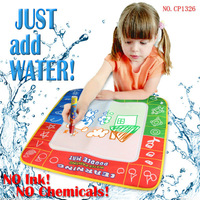 Free shipping  CP1326 49X48cm Magic Water Doodle Mat  with colo box &1 Magic Pen/Water Drawing t Mat/Water Doodle Mat