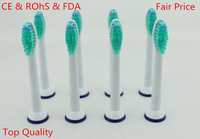 2014 Top Quality CE & RoHS certificate Dropshipping  8pcs HX6014 for philips sonicare  replacement electric toothbrush heads