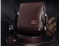 Kangaroo male package high quality men's package bag commercial messenger bag shoulder bag leather bag Freeshipping