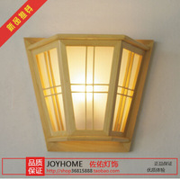 Log Classic Chinese Style Classical Pine Solid Wood Wall Lamp Bedrom Wall lamp Wall Lighting