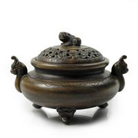 Purple incense burner antique yixing purple clay incense burner bronze incense burner santalwood hob incense burner