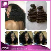 Sunny Grace NEW boom curl Brazilian Human virgin hair extension for black women funmi curl human hair bundles