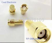 20pcs/lot RP-SMA without pin RF coaxial Termination dummy Loads 1W 0.5 watt DC- 2.5GHz 50 ohm Adapter