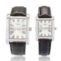 Free shipping Hot Sale New Fashion Luxury Famous Brand Lovers Watch Men Women leather Dress Watches Quartz Waterproof Wristwatch
