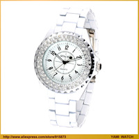 Free Shipping,Men's watch ladies watch fashion lovers watch quartz watch white lovers table vintage diamond