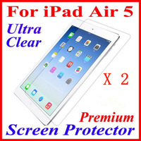 Wholesale 2 Pcs ULTRA CLEAR Screen Protector Film For Apple iPad Air 5 5G(Premium Guard Cover)-IPD5001