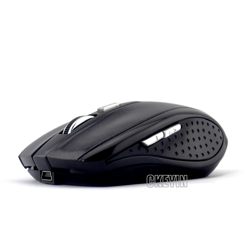 6D перезаряжаемый 1600 DPI Bluetooth оптические мышь - черный обтекаемый дизайн / падение BM01-Y22