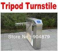 Free Shipping Turnstile(Drop Arm ) 3- Arm Turnstile. Access Control System Semi-Auto Box Style Tripod Turnstile integrate system