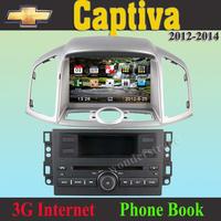 "8""  CAR DVD PLAYER autoradio GPS navigation  for Chevrolet Captiva 2012 2013 / 3g internet / Russian language / TMC optional"