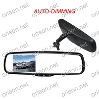 "Hot selling 1pc/lot New 3.5"" TFT-LCD Screen Auto-dimming Special Original Rear View Mirror Car Monitor,12V AutoMonitor (OE355MS)"