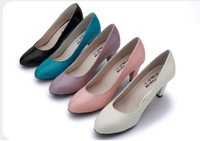 Pretty Cheaper Women Sexy Party Shoes Patent Leather High Heel Shoes 5cm (Size 35-) Hot Sale