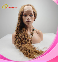 Sunnymay  Beautiful And Hot Sale 100% Brazilian Virgin Human Hair Loose Wave U Shape  Wig .