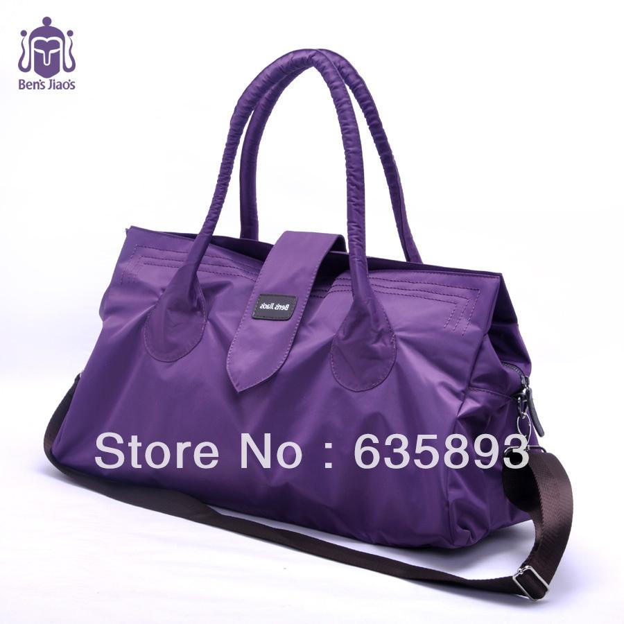 sale!!women messenger bag nylon one shoulder cross-body purple handbag ...
