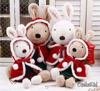 Christmas gift  Plush animals Super Cute Plush Toy Doll Rabbit Stuffed Toys Children Birthday Gift ,toys baby 45cm 1PCS