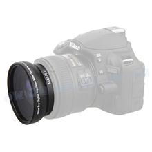 0.45XWide Angle Macro Lens For 58MM NIKON D5300 D5200 D5100 D3300D7100 D7000 D3200 D31000 D3000+ 50MM F1.8 Lens/58MM THREAD LENS(China (Mainland))