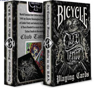 Classic Bicycle Club Tattoo Deck Playing Card Best Magic Cards High Quality Bicycle Playing Cards Poker