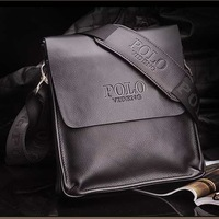 2013 New Arrived leather men shoulder bag fashion messenger bag for men bussiness bag