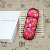 Suzhou handmade embroidery vintage fashion classic glasses box