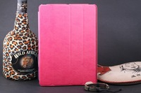 ROSE PINK NEW FLIP LEATHER CASE SMART FUNCTION STAND COVER FOR IPAD AIR for IPAD 5 FREE SHIPPING