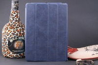 BLUE FLIP LEATHER CASE SMART FUNCTION STAND COVER FOR IPAD AIR for IPAD 5 FREE SHIPPING
