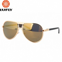 2013 new men and women polarized driving sunglasses  fashion gold sun glasses oculos de sol A160