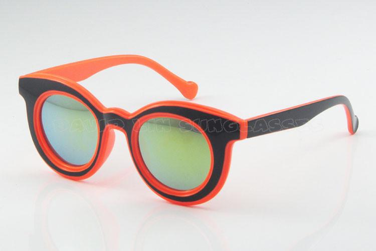 Trendsetter Elegant Vintage Women/Men Round Box Vintage Windproof Prince Mirror Sunglasses Free shipping 3088G(China (Mainland))