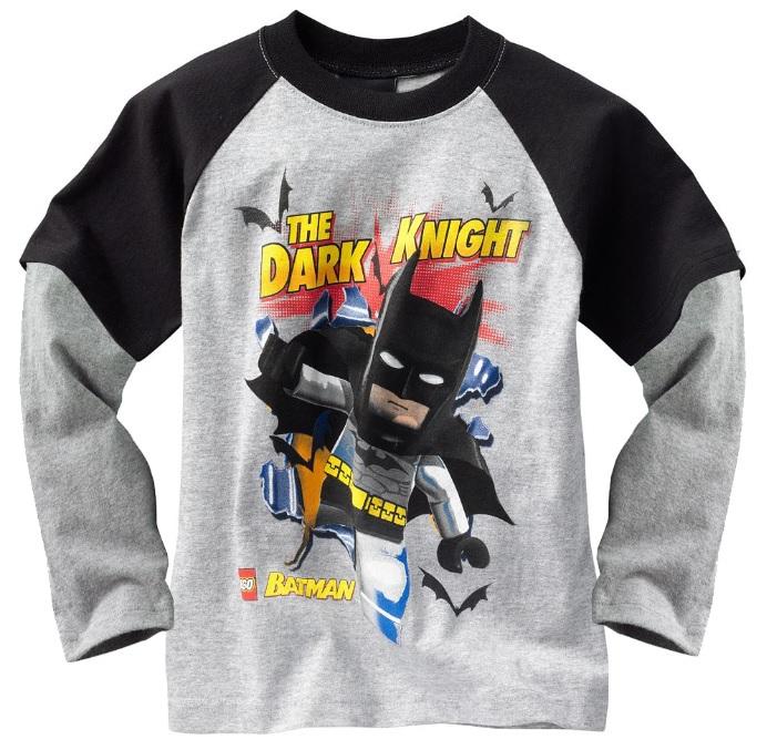 batman boy's tshirts long sleeve jersey