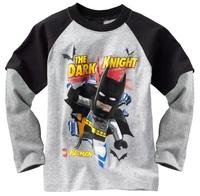 Batman Boy's tshirts Long Sleeve Jersey Kids Tshirt Boys Clothes Children's Tee Shirts W145