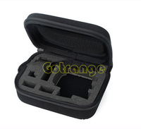 Free shipping Good quality Hero3 bag black camera portable storage bag for Gopro Go Pro HD Hero3 1 2 3+ accessories gopro