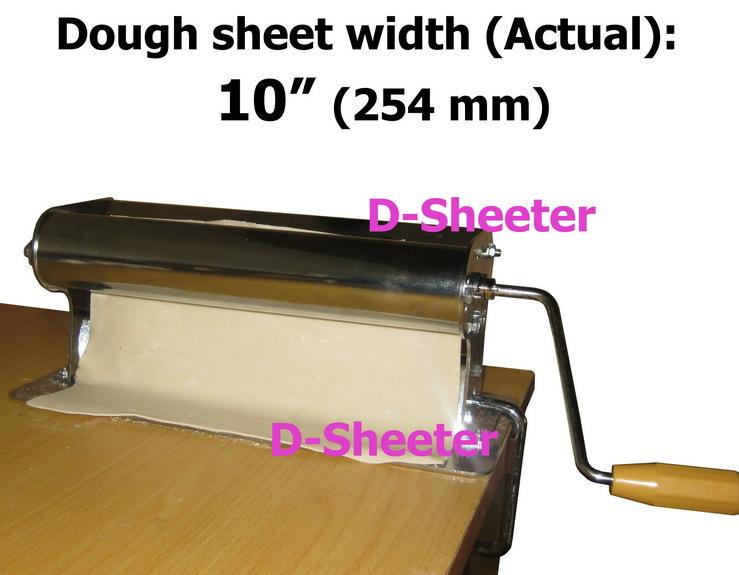 10 254 mm teigrolle teig querschneider pizza teig gebäck maschine