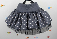 Free shipping,1-4 year ,1pcs/lot 2013  new arrive baby children skirt,girl clothes ,Bow skirt, BH-036
