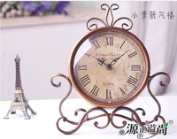 Free Shipping Brand Rome Retro Clock Europe Unique Fashion Designer Digital Clocks High Quality Battery Powered Home Decoration