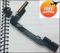 100% Original Audio Jack Flex Cable Ribbon for New iPad 4 4th Gen, (3G version) Volume flex cable, free shipping,5pcs/lot