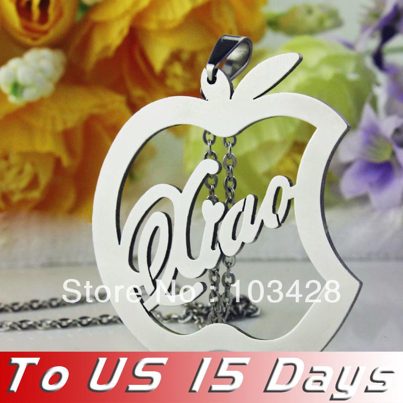 Apple Jewelry For Teachers Teacher Apple Necklace