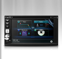 """6.2"""" Touch Screen High Speed 2 Din Car DVD Double Din Car Radio Two Din Car GPS with Powerful Amplifier System 4*50W"""