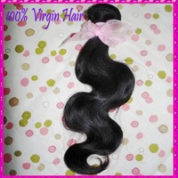 1 piece/lot Unprocessed 7A Mongolian virgin body wave hair,1 bundle retail selling,queen best , free DHL shipping