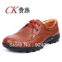 2013 new, men, 100% first layer of leather, apartments, business, leisure shoes, outdoor, male leather shoes, shipping