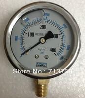Stainless steel Pressure gauge Manometer 0~400kg/cm2(0~5600Psi)