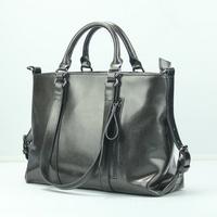 Wholesale Promotion  2014 Work Bag Women Messenger Bags Genuine Leather Bag for women  Handbags Women's Motorcycle bag handbags