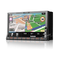 """7"""" Touch Screen WIN CE 6.0 OS ARM Processor 2 Din Car DVD GPS Support External Microphone & DVR Selectable Car Logo & Background"""
