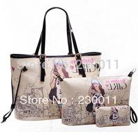 2013 New Style Tide Girl Korea Version Printing Summer Women Bag