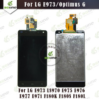 100% Original Free shipping Replacement For LG Optimus G E973 LS970 LCD Display Screen With Touch Digitizer Assembly E971 E975