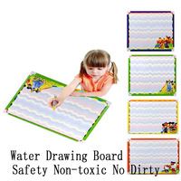 Aqua Doodle Drawing 3 Color Cartoon Water Drawing Board Learning & Education Fashion Baby Toy Gift Free Shipping!
